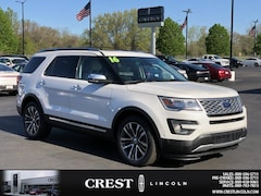 Used 2016 Ford Explorer Platinum for Sale in Sterling Heights MI