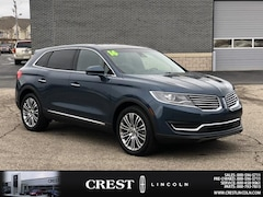 Certified 2016 Lincoln MKX Reserve SUV in Sterling Heights, MI