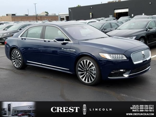 2018 Lincoln Black Label Continental Car