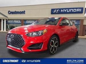 New 2019 Hyundai Veloster For Sale at Crestmont Hyundai | VIN