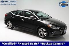2017 Hyundai Elantra Limited **Certified**