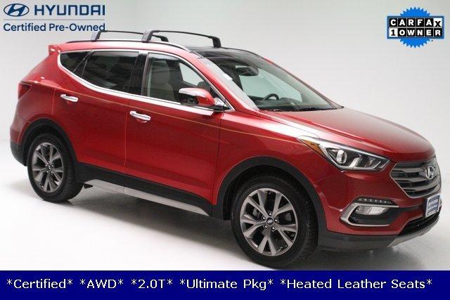 2017 Hyundai Santa Fe Sport 2.0L Turbo Ultimate AWD **Certified**