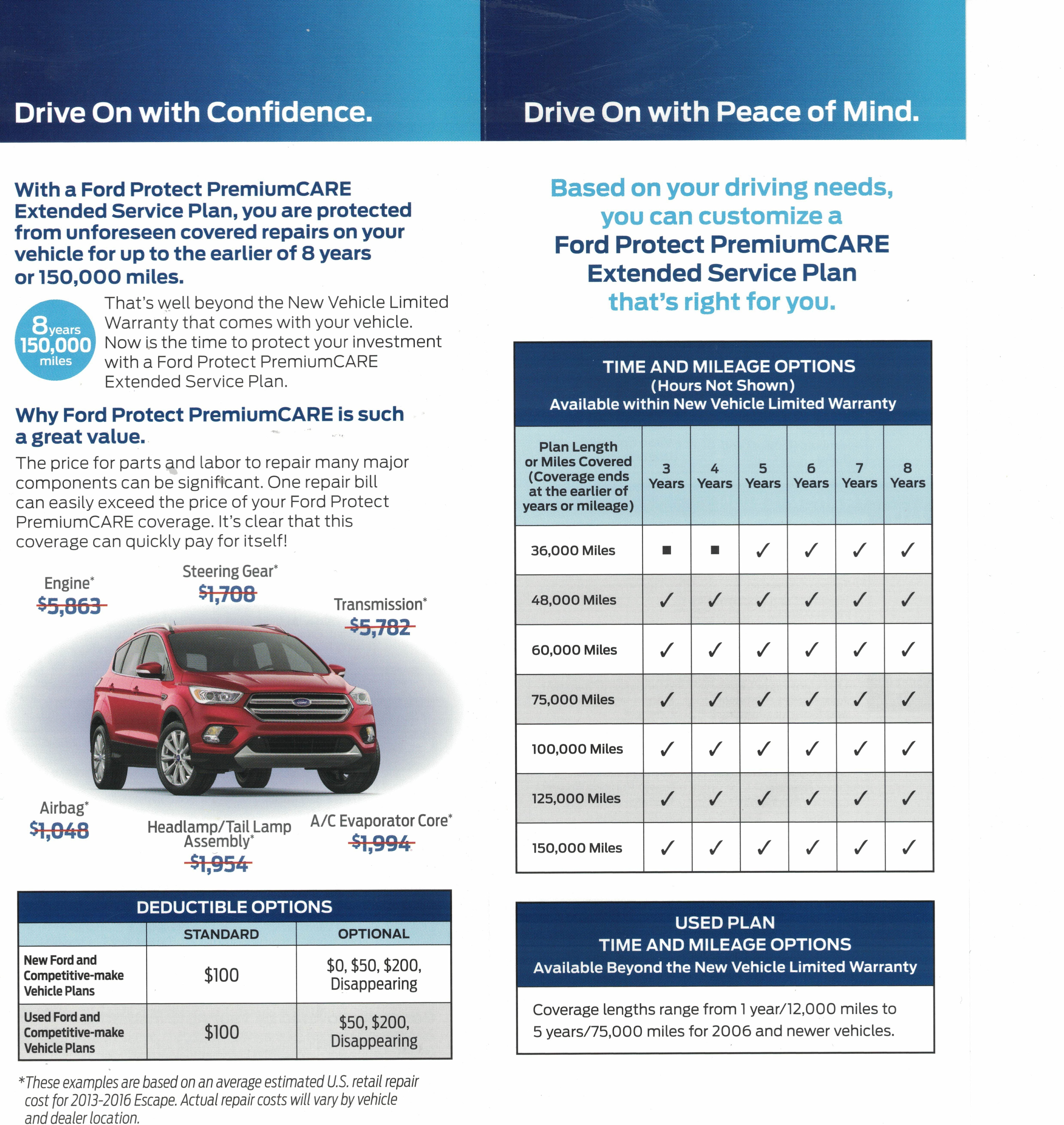 Ford Extended Warranty >> Ford Protect Extended Warranties Crest Ford