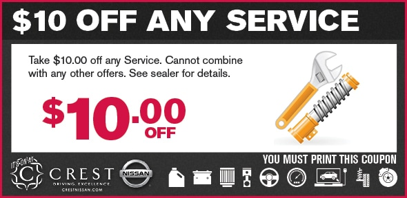 Alignment Special Service Coupon, Dallas Automotive Service