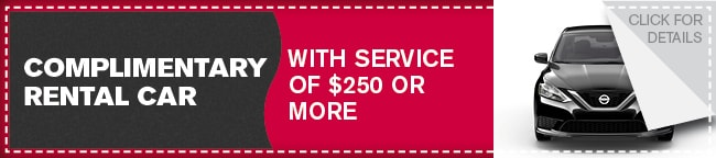 Rental Special Coupon, Dallas Automotive Service