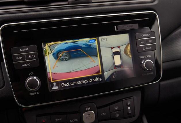 2018 Nissan LEAF around view camera