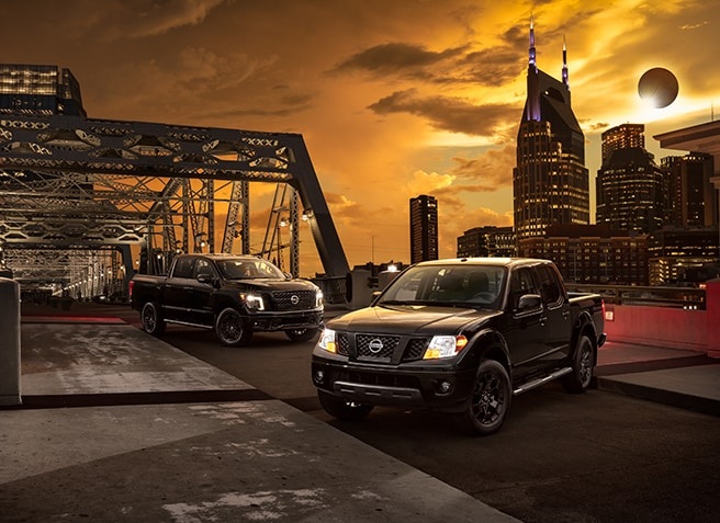 Nissan TITAN and Frontier Midnight Editions