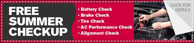 Summer Service Coupon, Dallas Automotive Service