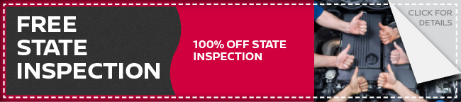 Free Nissan State Inspection Coupon, Dallas