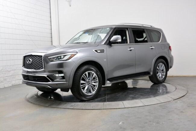 2018 INFINITI QX80 Drivers Assist 8 Passenger SUV