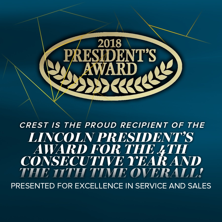 New Lincoln and Used Car Dealership | Crest Lincoln of