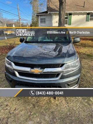 2019 Chevrolet Colorado 2WD Work Truck Crew Cab Pickup