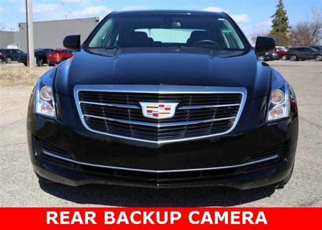 Used 2015 CADILLAC ATS 2.0L Turbo Sedan For Sale in Lansing, MI