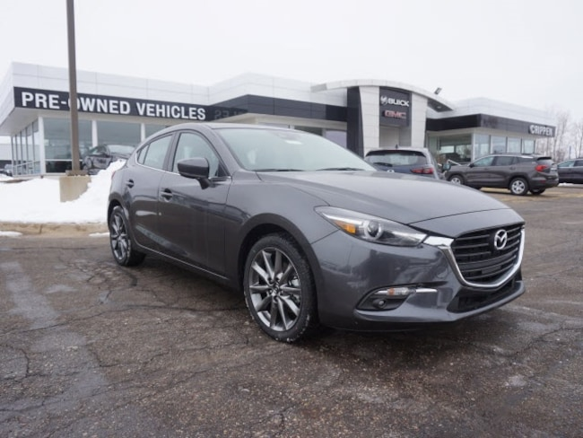 New 2018 Mazda Mazda3 Grand Touring Hatchback For Sale in Lansing, MI