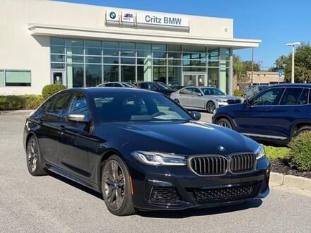 2021 BMW 5 Series M550i xDrive Sedan Car