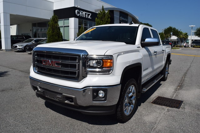 2015 GMC Sierra 1500 SLT Crew Cab Value Package Truck Crew Cab