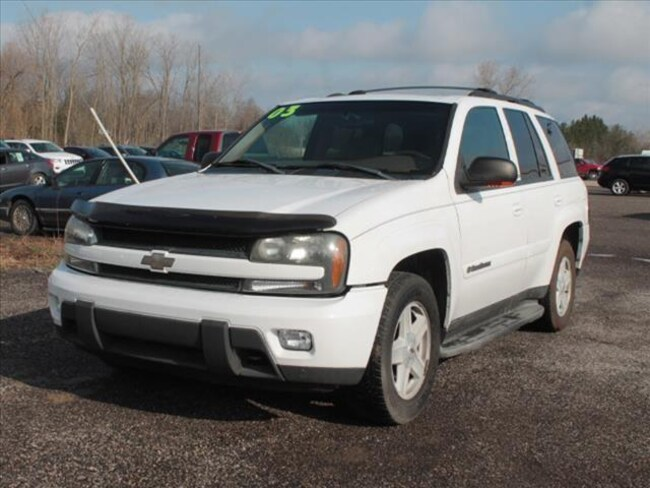 Used 2003 Chevrolet TrailBlazer SUV For Sale Hudson, MI