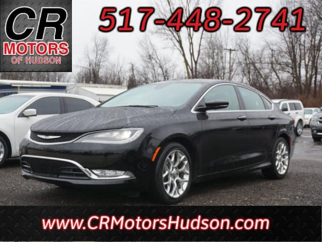 Used 2015 Chrysler 200 C Sedan For Sale Hudson, MI