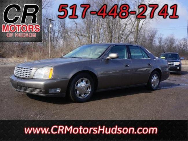 Used 2002 CADILLAC DEVILLE Base Sedan For Sale Hudson, MI