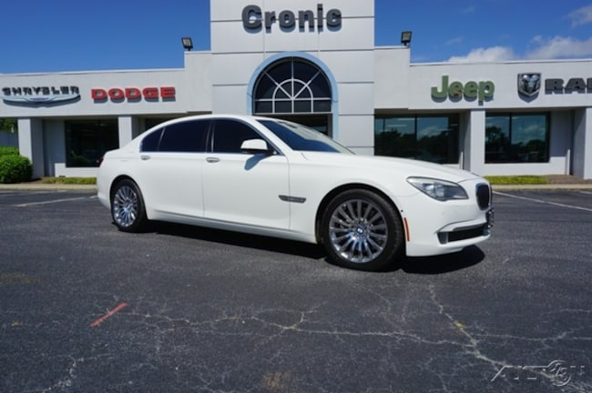 2010 BMW 7 Series 750Li xDrive Sedan