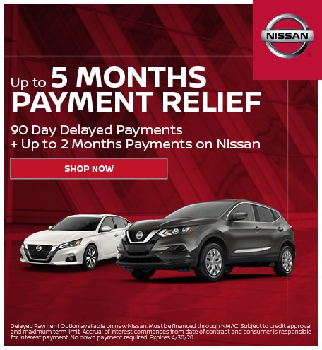 Nissan 5 Month Payment Relief