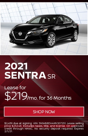 New 2021 Nissan Sentra | Lease