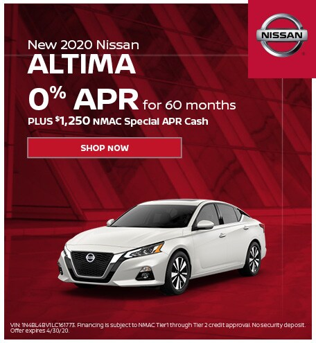 New 2020 Nissan Altima | APR