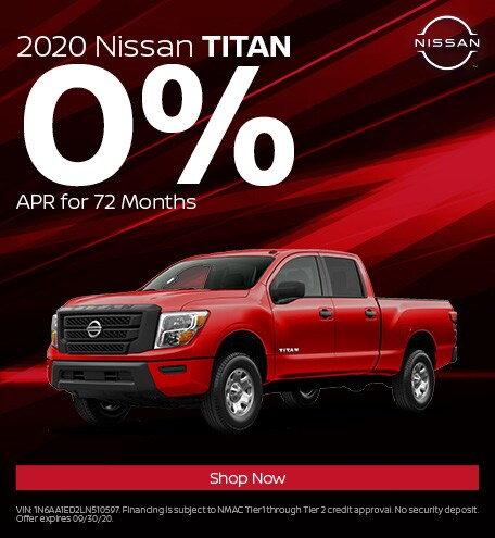 New 2020 Nissan Titan | 0% APR
