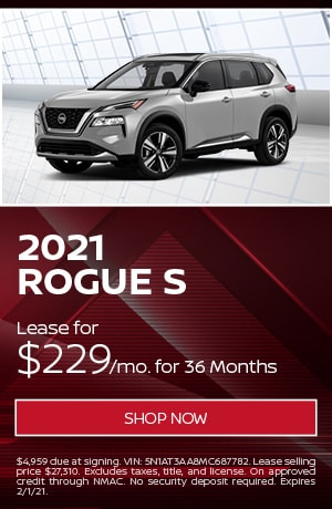 New 2021 Nissan Rogue | Lease