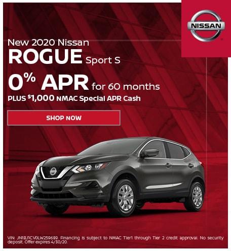 New 2020 Nissan Rogue Sport | APR
