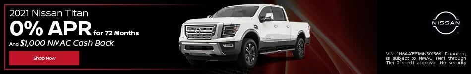 New 2021 Nissan Titan | 0% APR