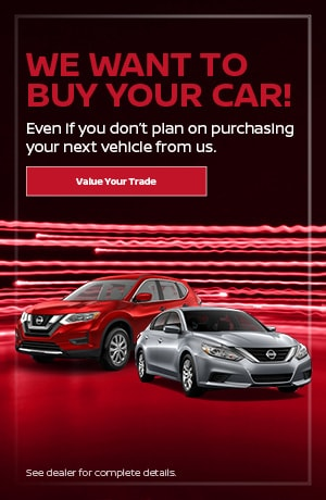 We want to buy your car!