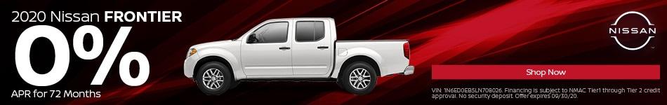 New 2020 Nissan Frontier | 0% APR