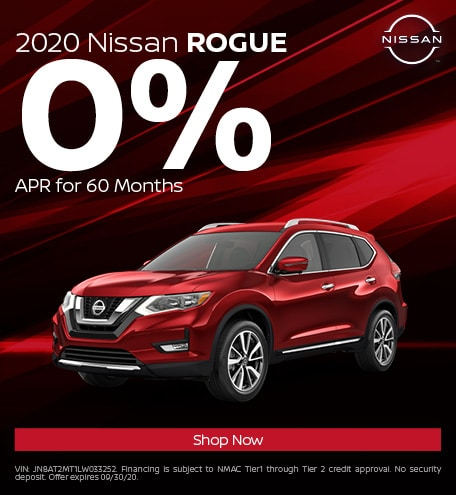 New 2020 Nissan Rogue | 0% APR