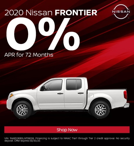 New 2020 Nissan Frontier | 0% APR