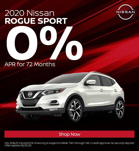 New 2020 Nissan Rogue Sport | 0% APR