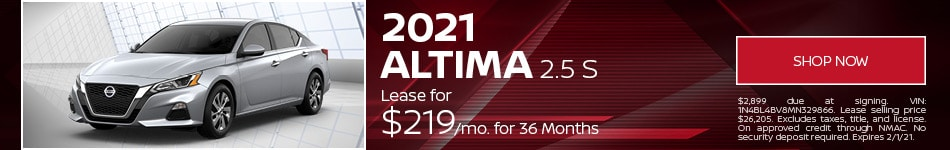 New 2021 Nissan Altima | Lease