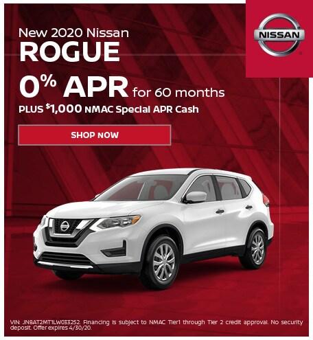 New 2020 Nissan Rogue | APR