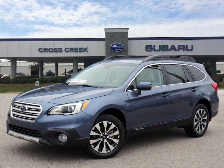Certified Pre-Owned 2017 Subaru Outback 3.6R Limited AWD 3.6R Limited  Wagon 4S4BSENC3H3214845 for sale in Fayetteville, NC