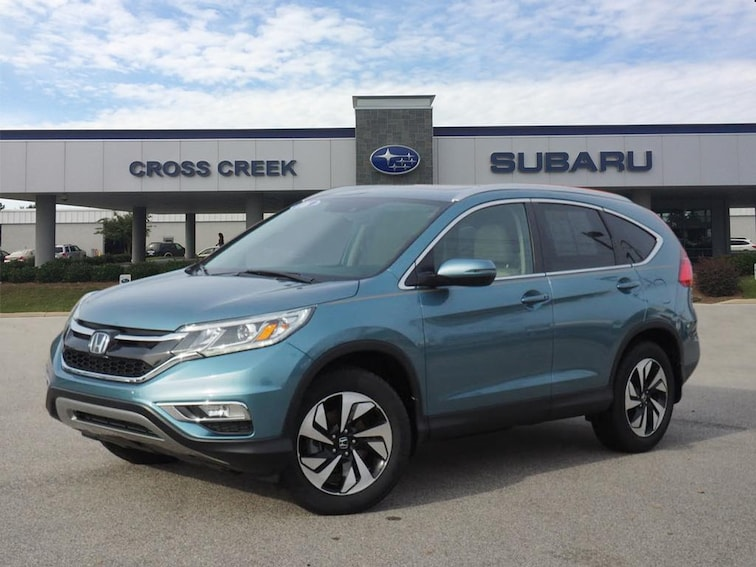 Used 2016 Honda CR-V Touring Touring  SUV 5J6RM3H99GL010738  in Fayetteville NC