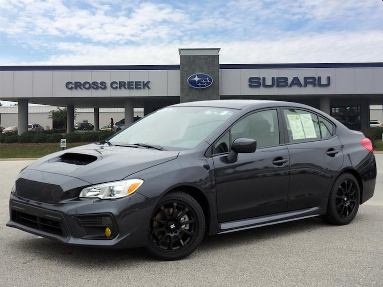 Used 2018 Subaru WRX Base AWD  Sedan JF1VA1A67J9832336  in Fayetteville NC
