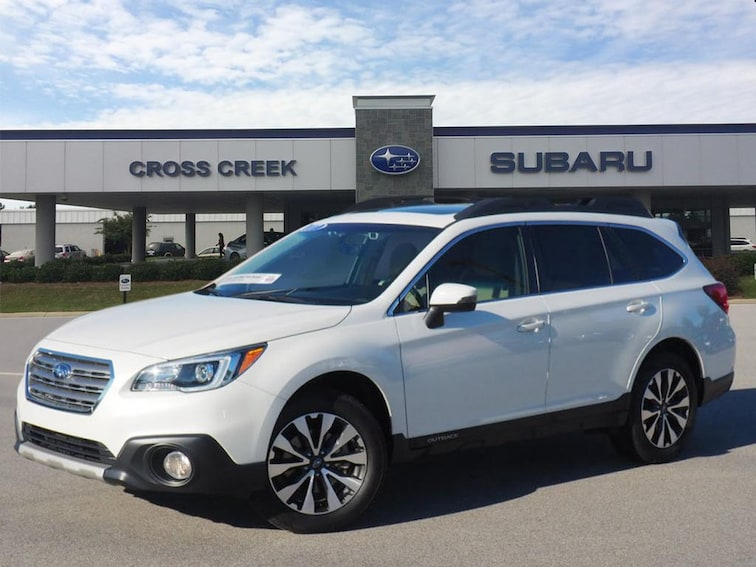 Certified Pre-Owned 2017 Subaru Outback 2.5i Limited AWD 2.5i Limited  Wagon 4S4BSANC4H3385189 for sale in Fayetteville, NC