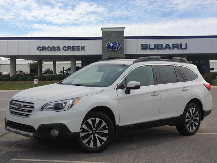 Certified Pre-Owned 2017 Subaru Outback 2.5i Limited AWD 2.5i Limited  Wagon 4S4BSANCXH3271407 for sale in Fayetteville, NC