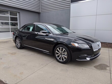 2020 Lincoln Continental Standard Standard FWD