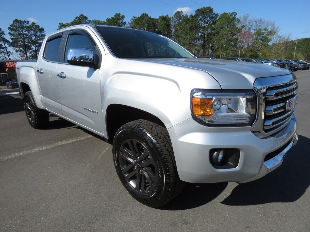 2018 GMC Canyon SLT Crew Cab Short Bed Truck