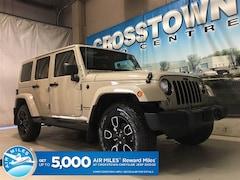 2018 Jeep Wrangler JK Sahara | NAV | 5-Speed Auto | Black Leather | SUV