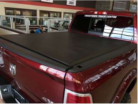 2016 RAM 1500 Crew Laramie 4x4 - Rear Quarter View