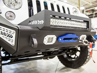 2015 JEEP WRANGLER UNLIMITED - Front Grill View