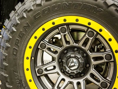 2015 RAM 3500 - Off Road Tire