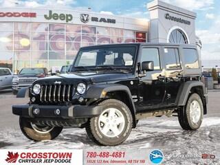 2018 Jeep Wrangler Jk Unlimited Sport Sedan